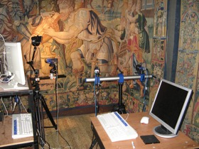 Tapestry monitoring at Hardwick Hall